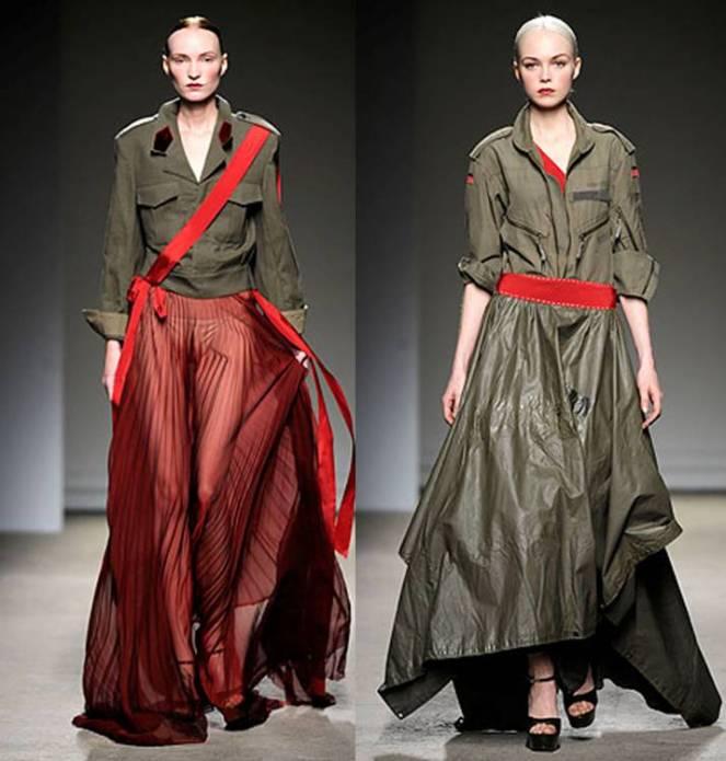 WW1 inspired fashion today