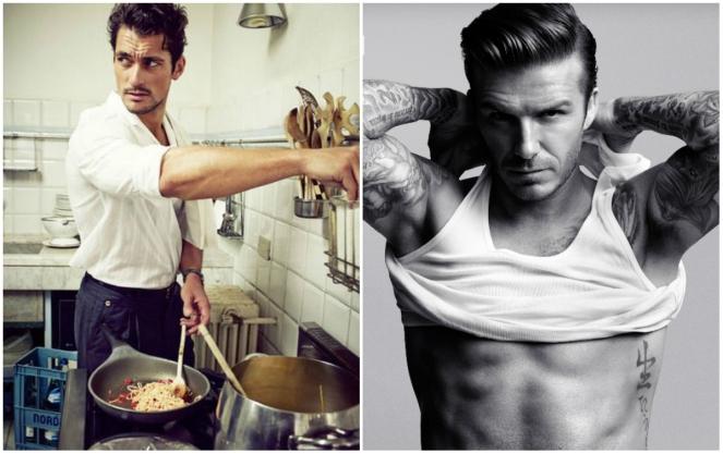 David Gandy, David Beckham, christmas party, anamiblog