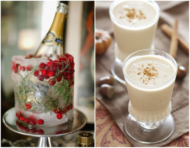 champagne, anamiblog, fab woman project, eggnog