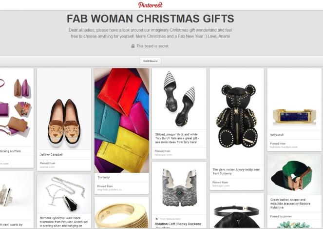fab woman gifts. anamiblog, christmas gift ideas
