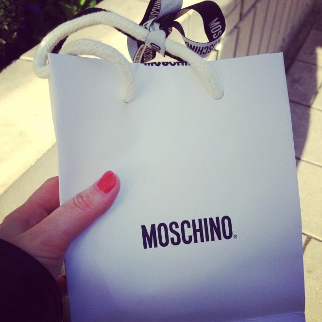 moschino, bag