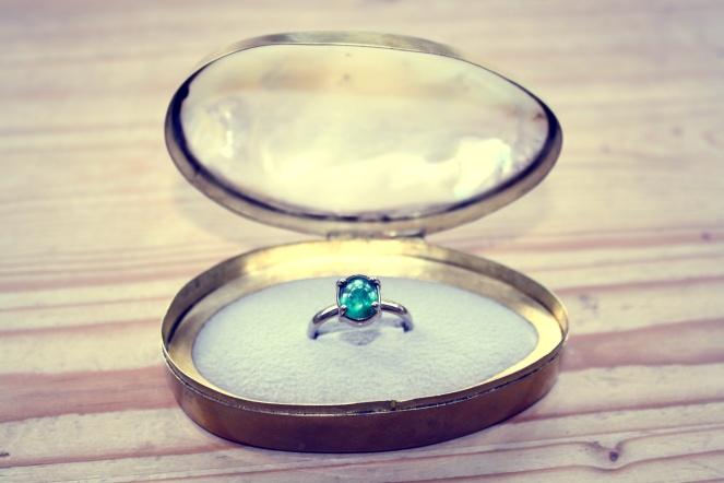 barbora rybarova, engagement ring, anamiblog