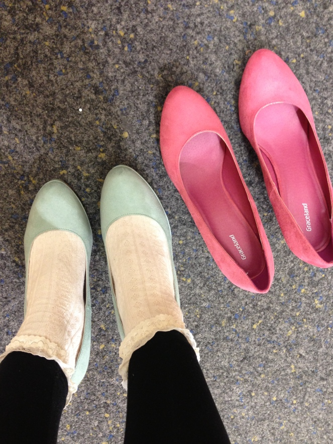 deichman, heels, pastel shoes