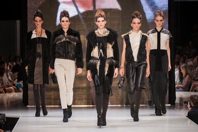 NUBU at Gombold Ujra, contructivism in fashion