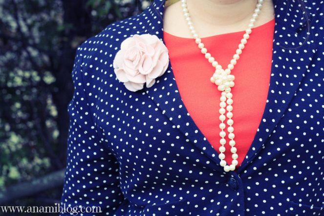 slovakia fashion, streetstyle, polka dots for spring