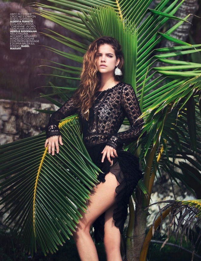 marie claire, barbara palvin, love, david bellemere, kama sutra