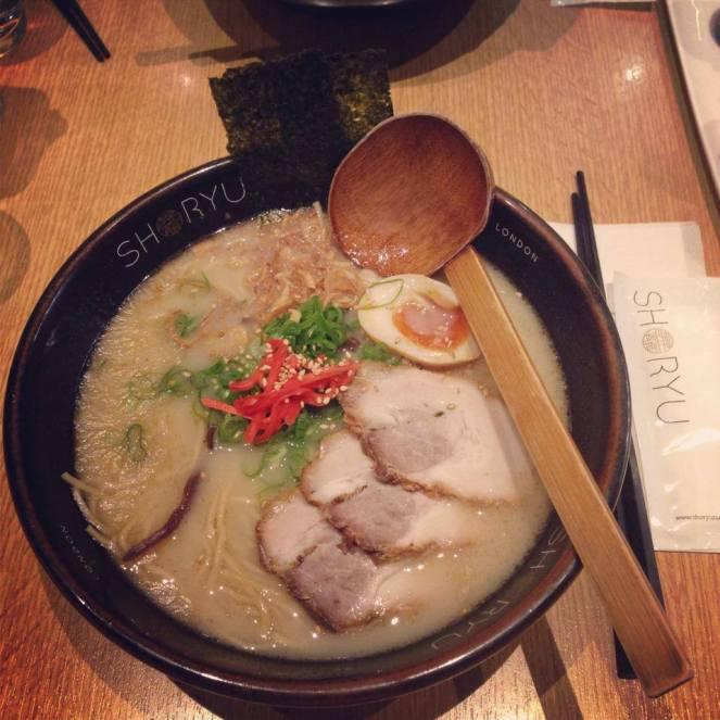soho, london restaurant, shoryu london, ramen, soup, eat