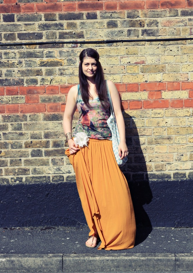 summer outfit, maxi skirt, ootd, lookbook, fashion