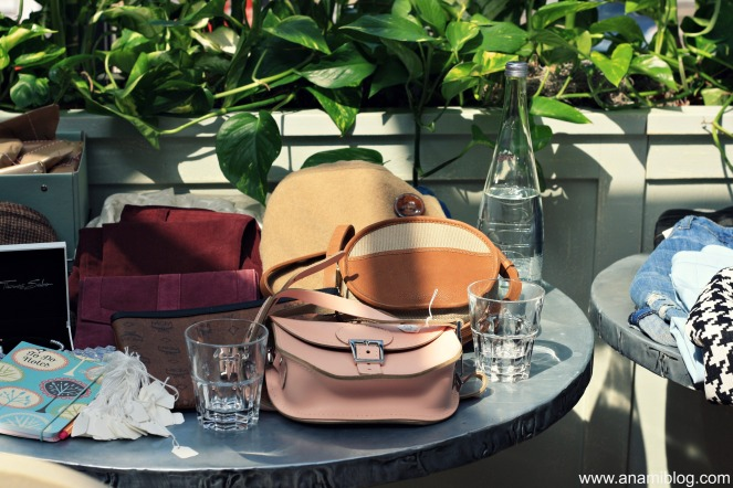 london blogger yard sale, aubaine, london, fashion, bags