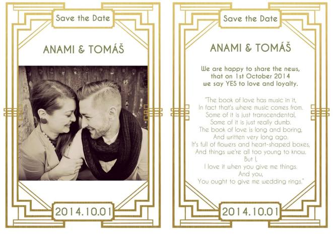 save the date, anami blog, wedding,