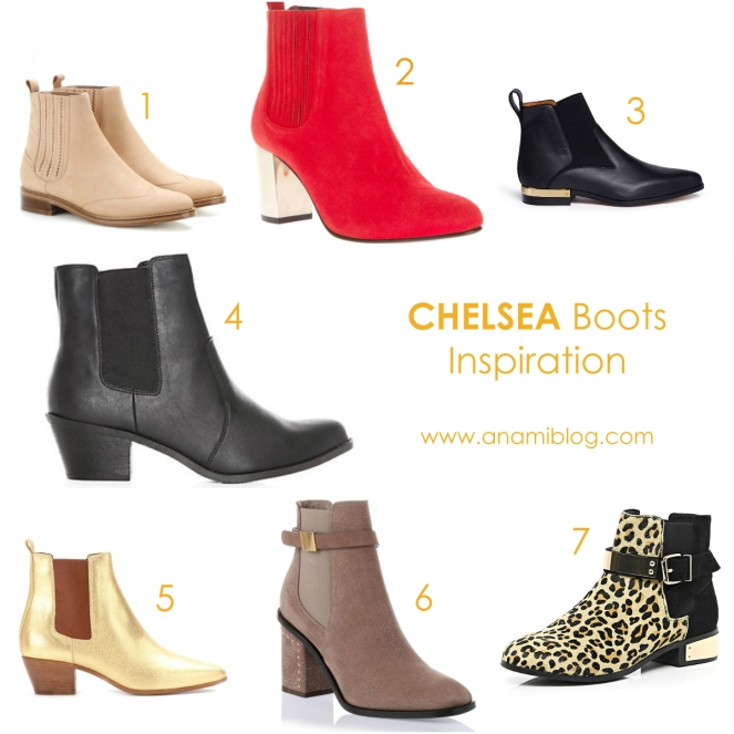 autumn, shoes, boots, chelsea boots, new look, ted baker, alexander mcqueen, river island, chloe, saint laurent, opening ceremony
