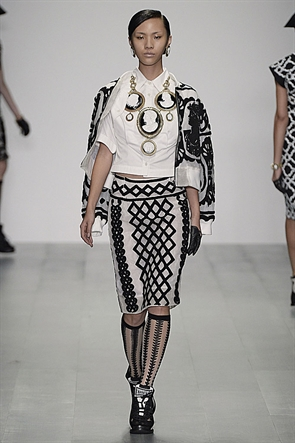lfw, ktz, ss15, collection, fashion, london, catwalk, womenswear