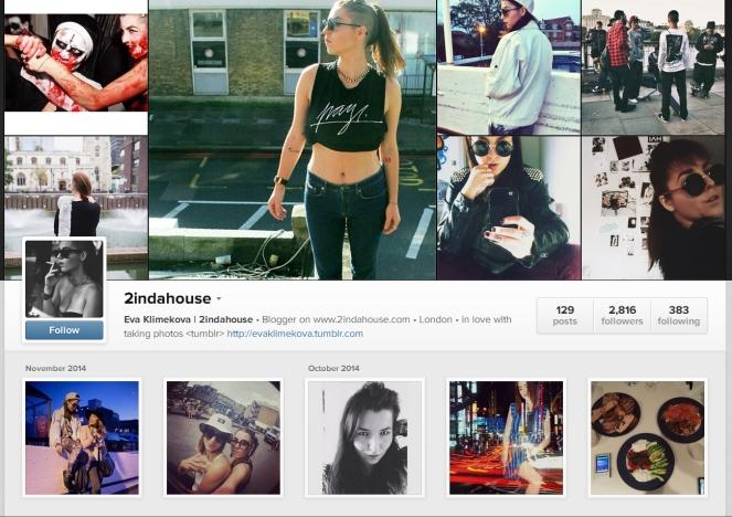 eva klimekova, 2indahouse, instagram inspiration