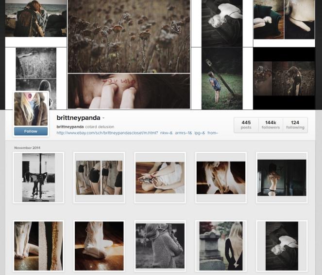Brittney Panda instagram