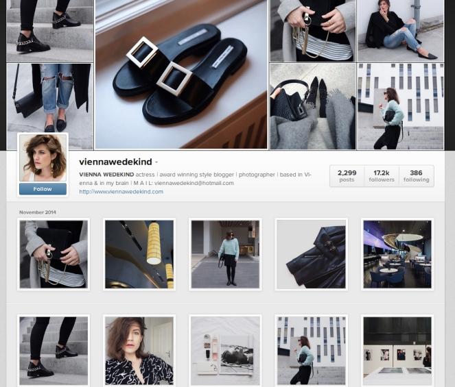 Vienna Wedekind instagram