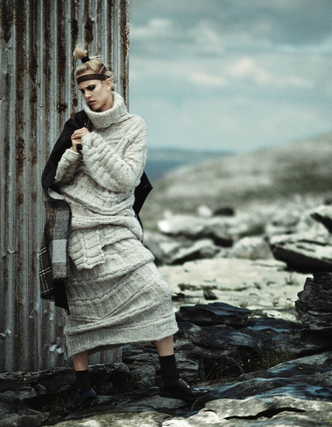 vogue, japan, editorial, fashion, aymeline valade, boo george, havana laffitte, samantha hillerby, hiromi ueda, photography, knits, winter