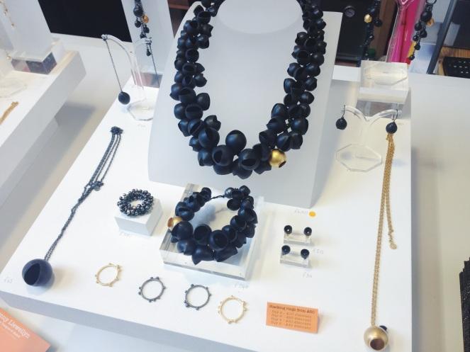 Jenny Llewellyn, Barbora Rybarova Jewellery, rare beauty pop up galery, clerkenwell, jewellery, cockpit arts, open studios, sara gunn, mind the cork
