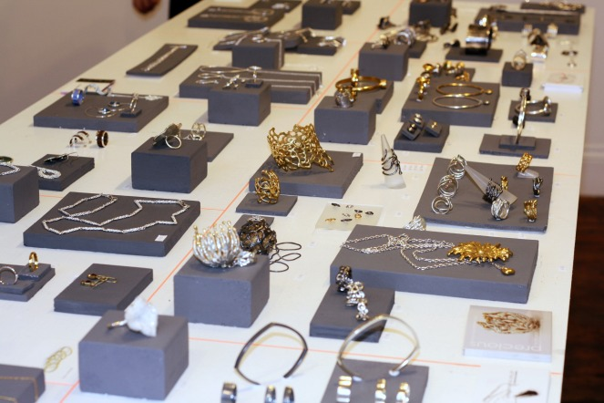 Barbora Rybarova Jewellery, rare beauty pop up galery, clerkenwell, jewellery, cockpit arts, open studios, sara gunn, mind the cork
