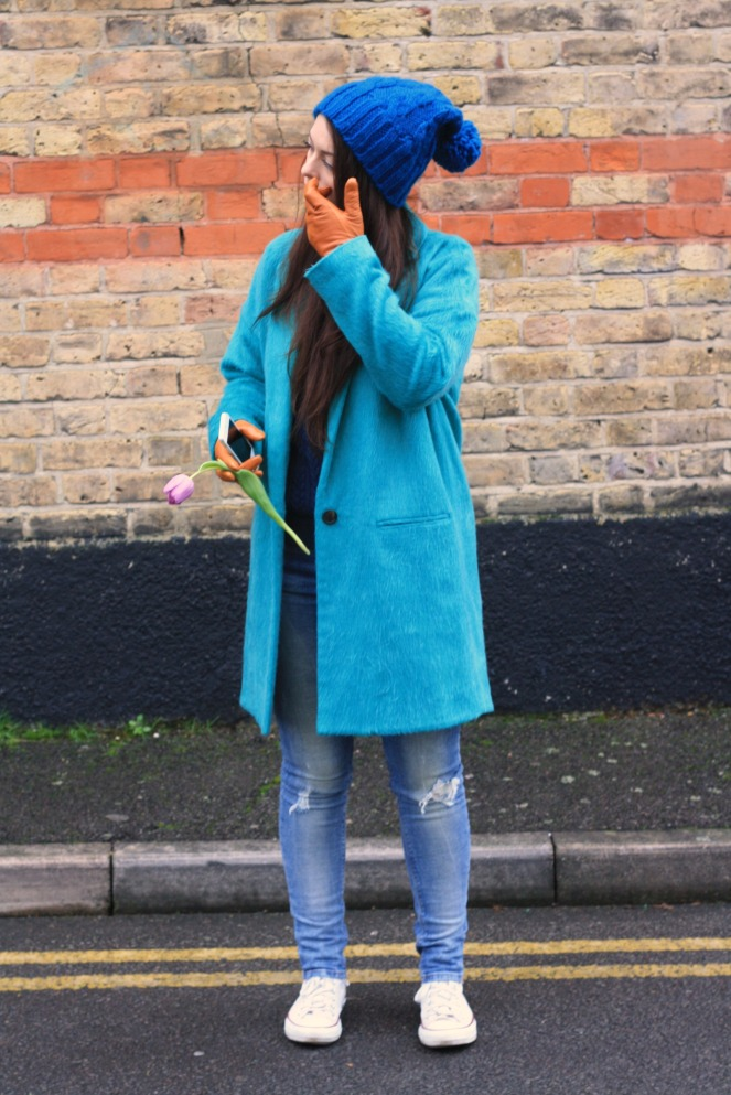 leather, cuff, 5005 leather, river island, oversized, coat, winter, jumper, hm, ripped jeans, outfit, personal style, fashion