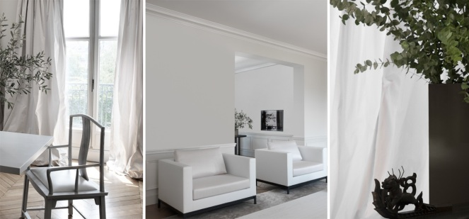 interior design, architecture, french design, guillaume alan, mayfair, london, minimalism