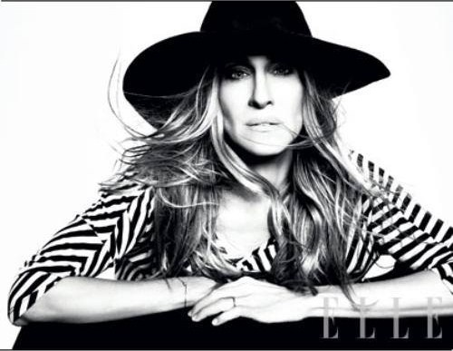 sjp, carrie bradshaw, sex and the city, woman, style icon