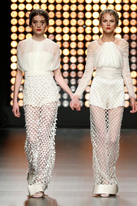 barcelona bridal week, fashion, isabel sanchis