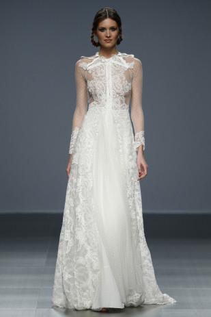 barcelona bridal week, fashion