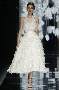 yolan cris, barcelona bridal week, fashion
