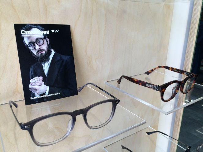 Crosseyes, glasses, scandinavian design, camden town