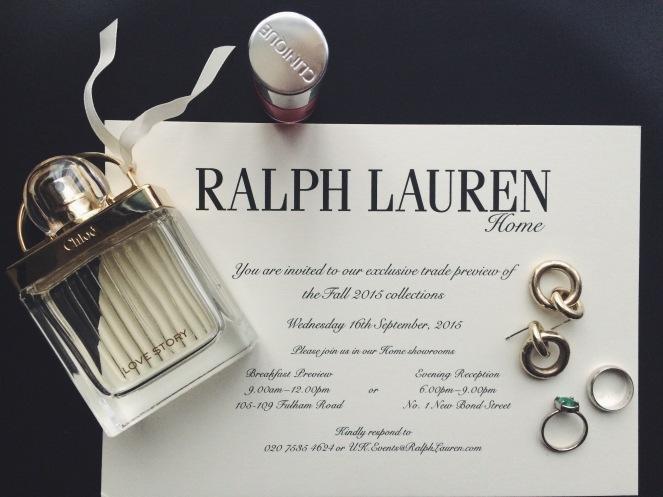 Ralph Lauren Fall 2015, new bond street