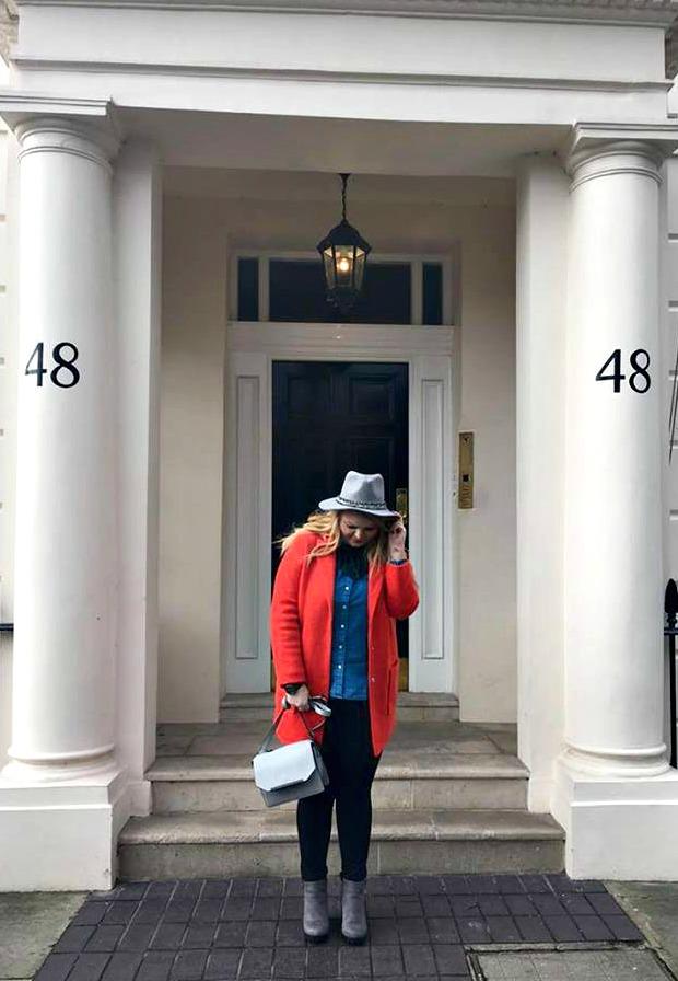 varga livi, livs visage, london fashion week, anamiblog