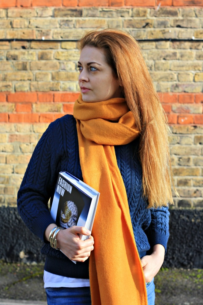anamiblog, topshop scarf, oversized scarf, london blogger