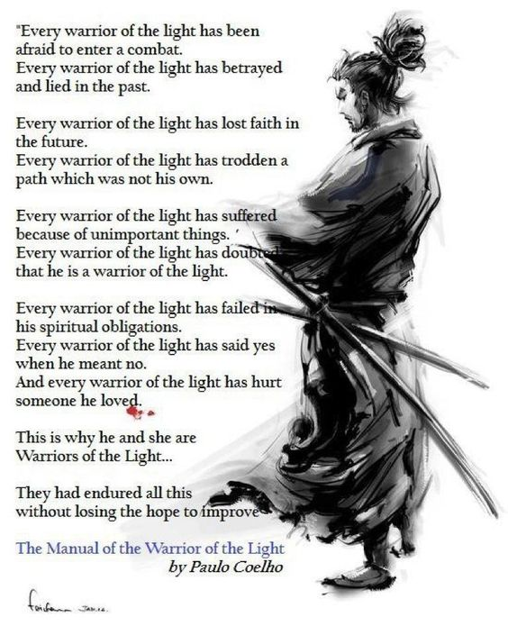 warrior of light paulo coelho