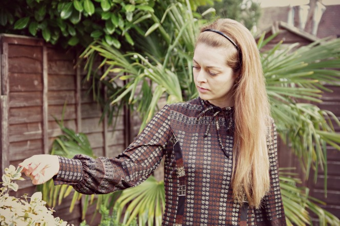 vintage outfit, london vintage kilo sale, anamiblog