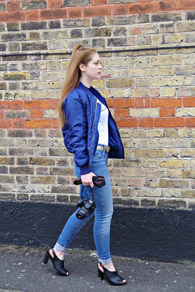 anamiblog, bomber jacket, boohoo, london blogger, made in slovakia