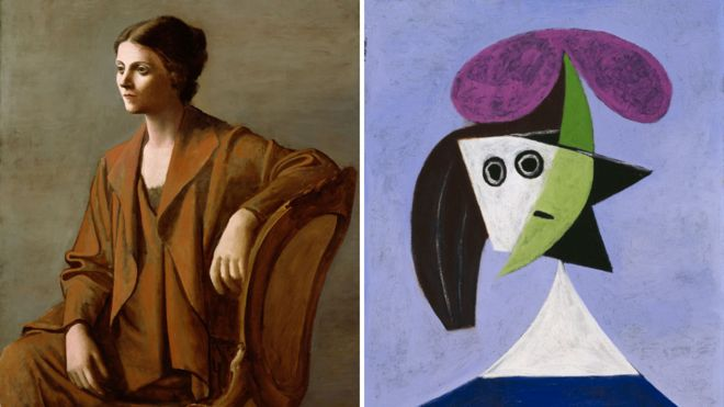 picasso portraits, national portrait gallery, picasso london 2016