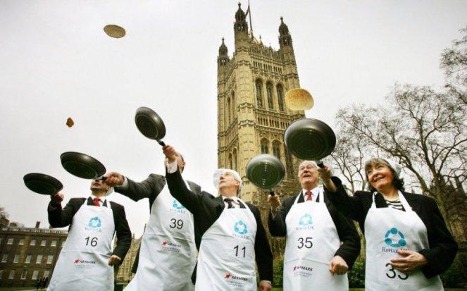 Pancake Day in London