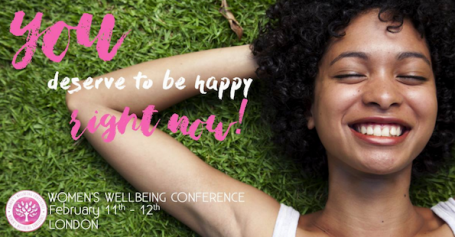 women's wellbeing conference, london february events
