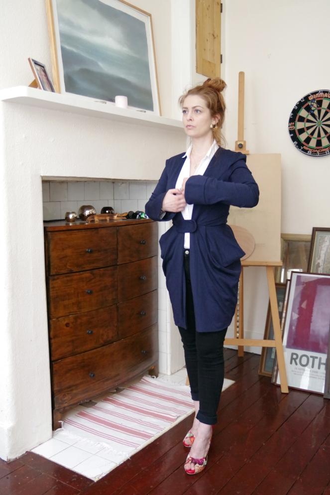 anamiblog, fab wmn, retrospect london, blue dress, vintage outfit