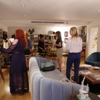 BLOGGER EVENT AT THE COVET HOUSE