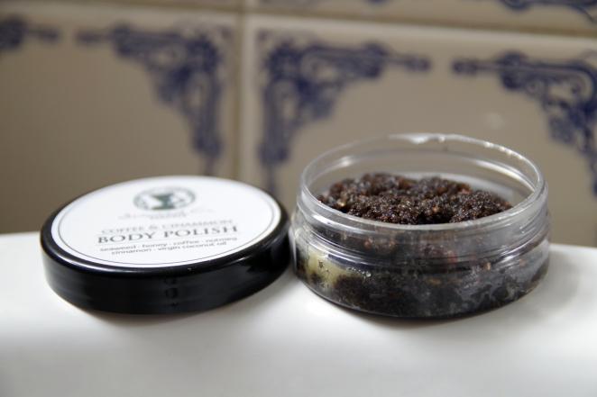 Zanza Natural Cosmetics, organic body polish, anamiblog